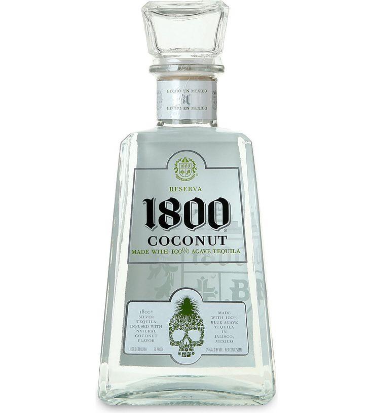 JOSE CUERVO - 1800 Tequila Coconut 700ml | Selfridges.com