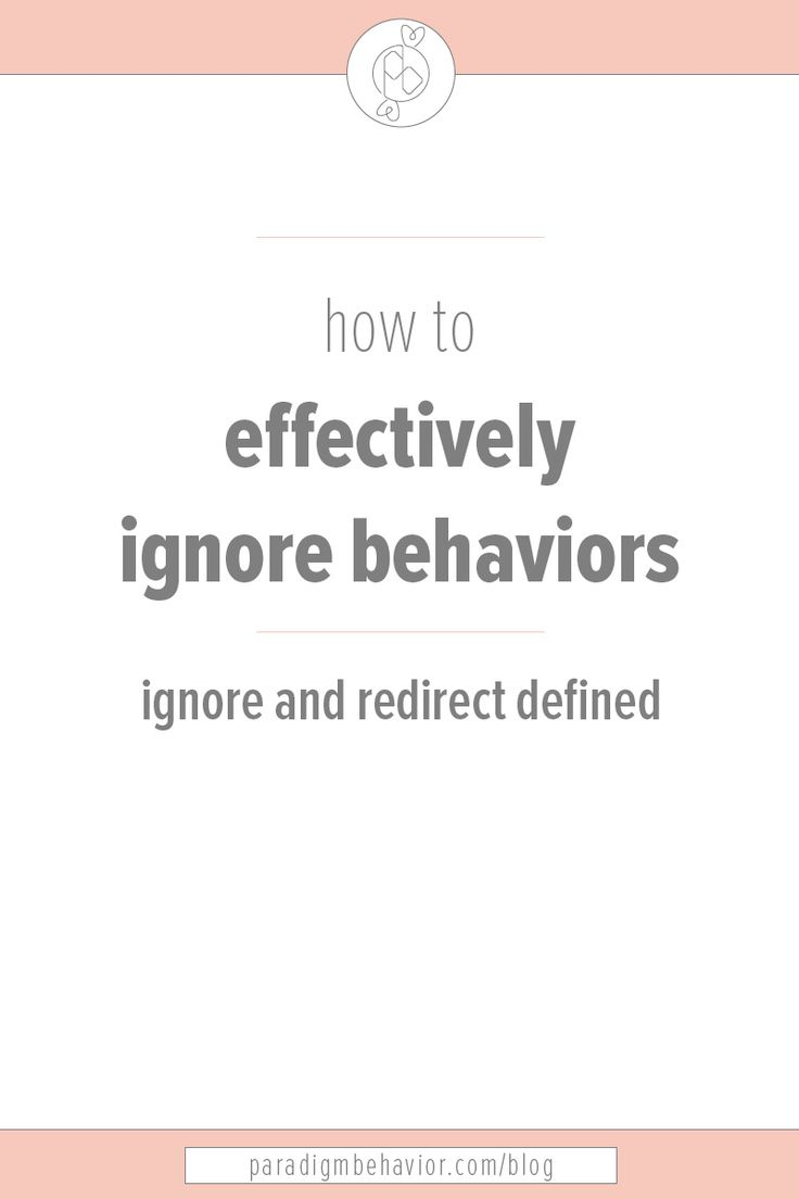 Ignore U0026 Redirect. Behavior AnalystBehavior ...