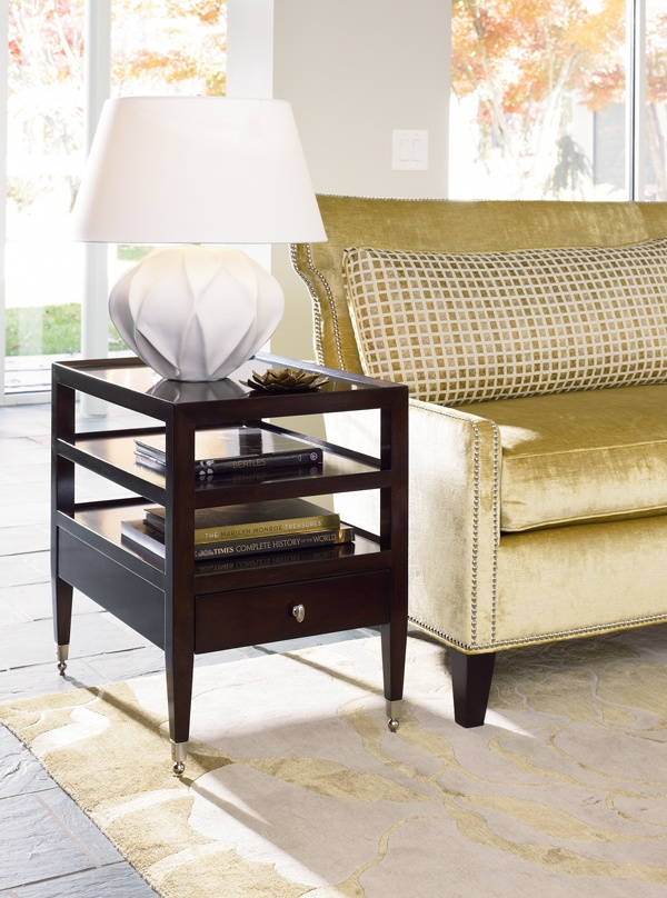 This Lovely End Table From The Thomasville Spellbound Collection Will Add A Touch Of Living Room