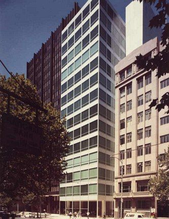 Eagle House with Yuncken Freeman. Melbourne, Australia 1971.