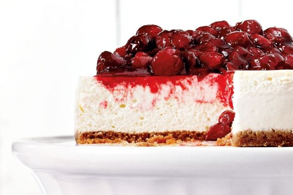 The Ultimate Canadian Cherry Cheesecake