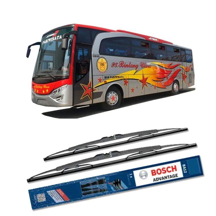 """Bosch Sepasang Wiper Kaca Mobil Bus/Bis Tipe Jetbus HD2 Travero Advantage 28"""" & 28"""" - 2 Buah/Set  Umur Pakai & Daya Tahan Lebih Lama Penyapuan kaca yang senyap Performa Sapuan Optimal Instalasi Mudah & Cepat Original Produk Bosch  http://klikonderdil.com/with-frame/1186-bosch-sepasang-wiper-kaca-mobil-mobil-busbis-tipe-jetbus-hd2-travero-advantage-28-28-2-buahset.html  #bosch #wiper #jualwiper #bisjetbus"""