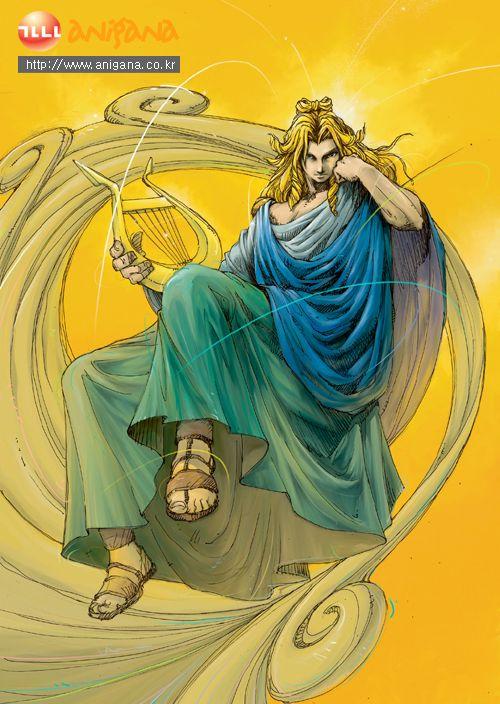 [아폴론 & 아르테미스] 만화로 보는 그리스 로마 신화 VS 올림포스 가디언 12신 비교 : 네이버 블로그