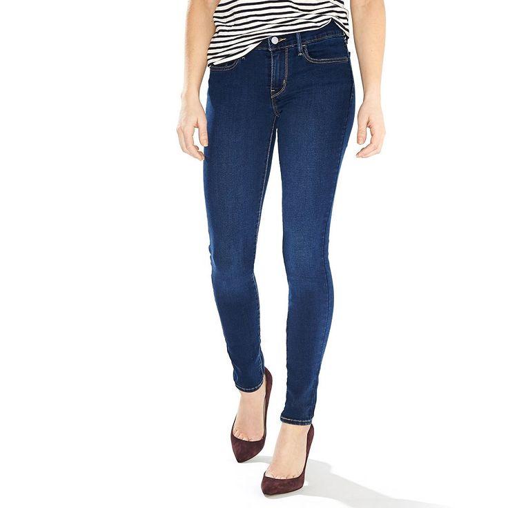 Women's Levi's® 710 Super Skinny Jeans, Size: 30(Us 10)S, Blue