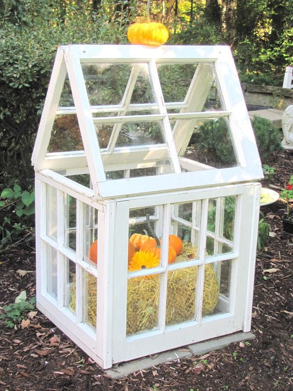 Best Greenhouse Images On Pinterest Garden Buildings DIY - Build small greenhouse with old windows