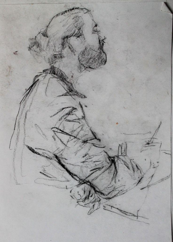 Титенков Владислав. Набросок. Студент. А6.2013 Titenkov Vladislav. Sketch.Student. A6.2013