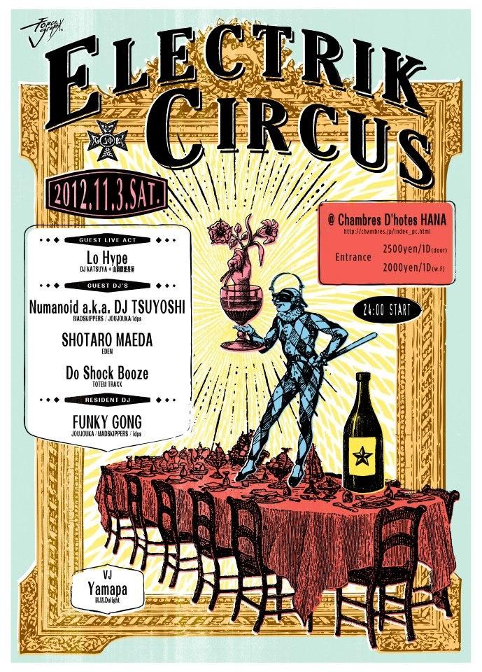 madskippers.com Electrik Circus
