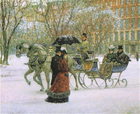 """""""Winter Impressions"""" by Alan Maley"""