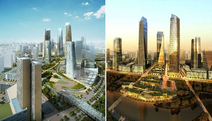 .Beijing Central Business District Expansion | SOMCourtesy of SOM