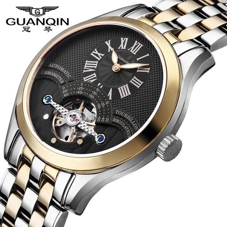 Famous Brand  GUANQIN Men Mechanical Watch Fashion Men Watch Luxury Shockproof Waterproof Wristwatches Relogio Masculino Reloj