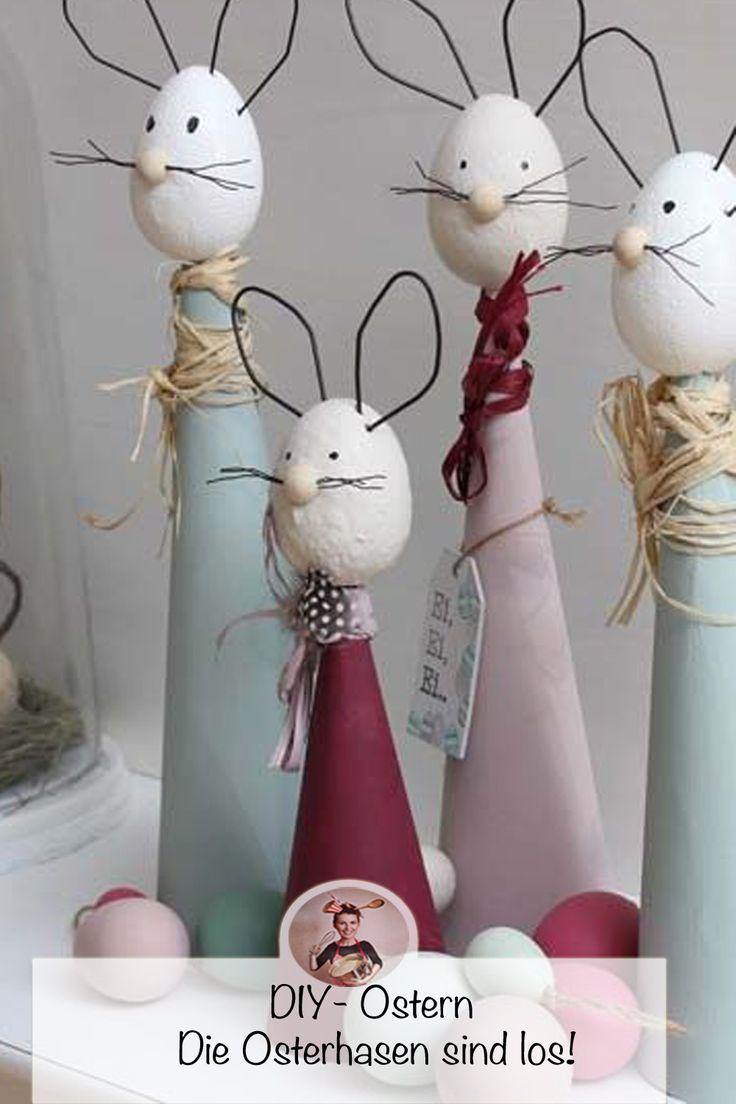 Kleine OsterbloggerEi-Event: Mein DIY – Die Osterhasen sind los! – Simone Leopold