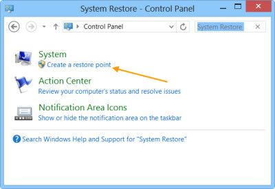 The Windows operating system will create a system restore point automatically periodically by default. Windows also creates a system restore point, when it detects a major change happening to your system – like when you are installing Windows Updates, Drivers or at times Software.