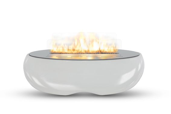 For those who value spending their spare time outdoors with friends and family, Planika comes up with 'Zen Garden'. Its unique ellipse-shaped silhouette, with beauty of flames forming a line, create truly relaxing atmosphere. It brings a real touch of luxury and becomes a focal point of one's garden or patio. All the pleasure-seekers will be contented to feast their eyes on this astonishing product. Moreover, Zen Garden is appreciated for its portability.