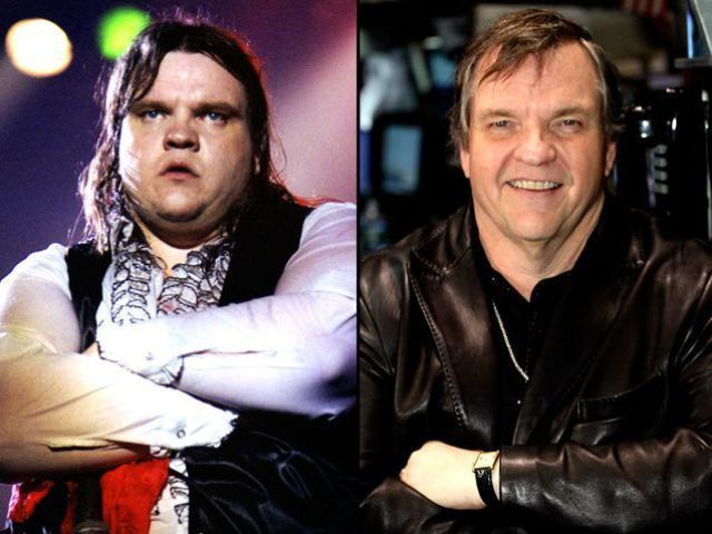 Meatloaf / How Rock Stars Have Changed (49 pics) - Izismile. Wow.. he is better now. Good job, Meatloaf!