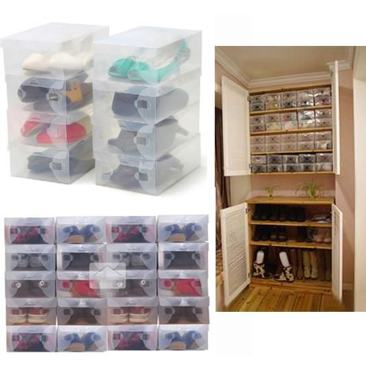 Best 25 Plastic Shoe Boxes Ideas On Pinterest