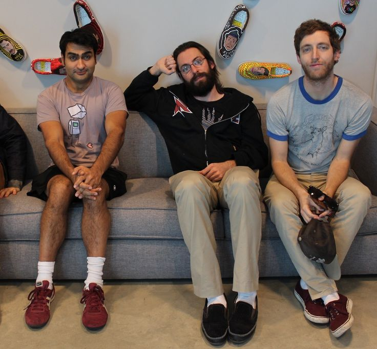Martin Starr, Kumail Nanjiani and Thomas Middleditch