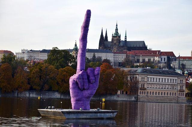 Your Guide to Prague's Rebel Artist: David Černý