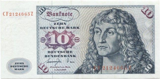 10 Deutsche Mark 1977 (Gorch Fock) Fehldruck Deutsche mark