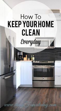 This is an AWESOME cleaning routine!  I've totally been looking for something li…