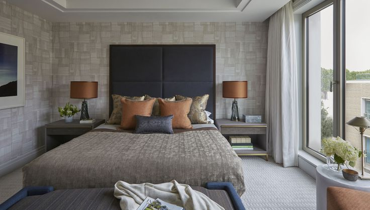 Copper and inky blue »« Helen Green - Lateral Apartment, Belgravia