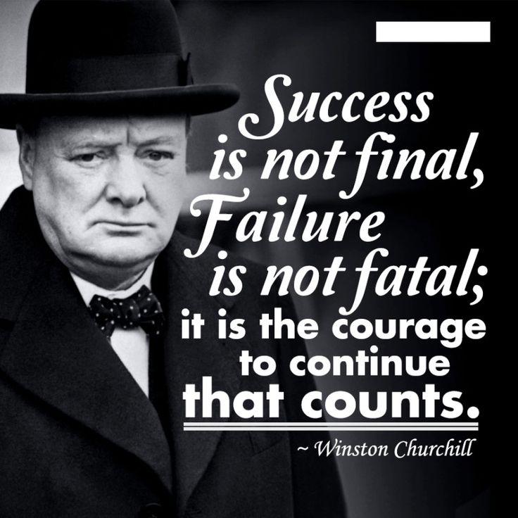 Pin by Kara Passante on Inspiring | Churchill quotes ...