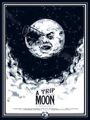 A Trip to the Moon by Mondo