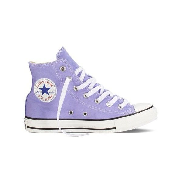 Lilac Light Purple High Top Converse Chuck Taylor All Stars Womens 6 Mens 4