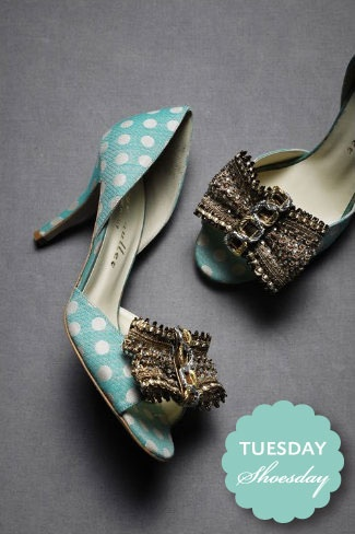 polka dot party shoes