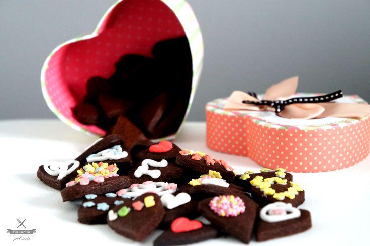 polzarciempolserio.pl  kakaowe ciasteczka  cocoa cookies