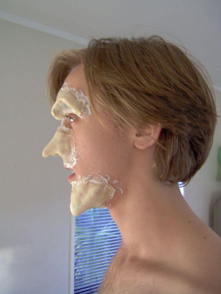 Homemade Prosthetic makeup
