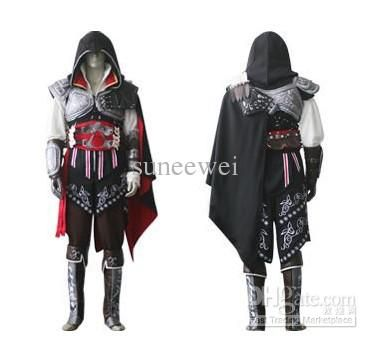 #Japan Cosplay Costume Discount New Assassin's Creed 2 Ii Costume Cosplay Halloween Party Ezio Black Anime Set Cosplay Costumes Ireland From Suneewei, $107.11| Dhgate.Com