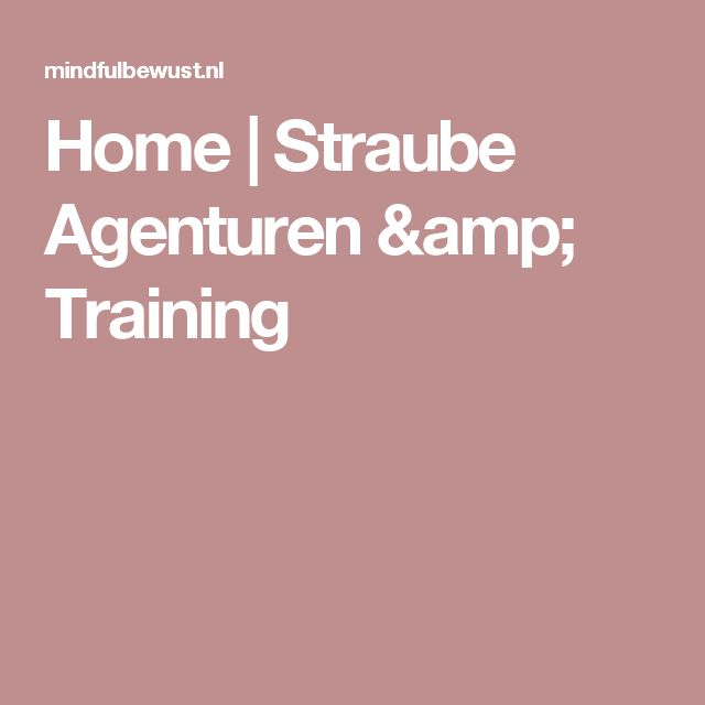 Home | Straube Agenturen & Training