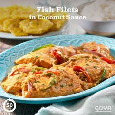 Red snapper smothered in a savory, tomato-laced GOYA® Coconut Milk sauce paired with a creamy, hearty rice recipe that's plate-scraping good. ¡Buen provecho!