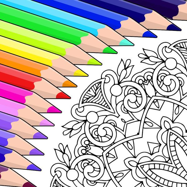 Download IPA APK Of Colorfy Coloring Book For Free