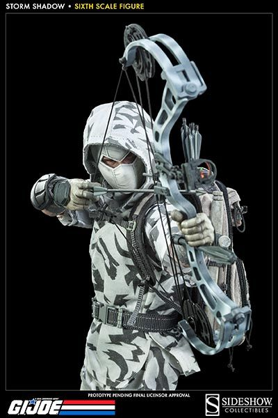 G.I. Joe Storm Shadow Sixth Scale Figure by Sideshow Collect | Sideshow Collectibles