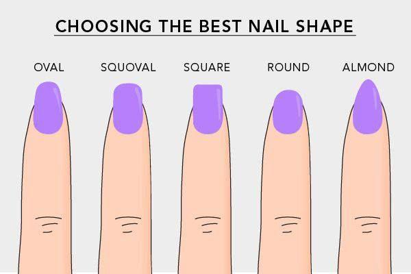 Choosing the best nail shape: alexis need squaroval