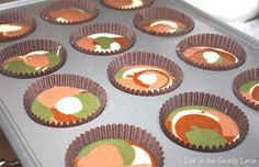 Camouflage Cupcakes aka Call Of Duty Cupcakes..