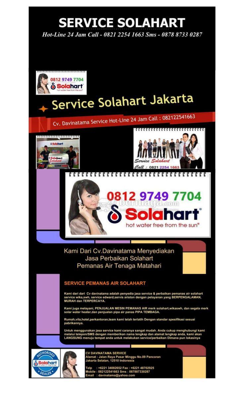 Service solahart   (0812-9749-7704) by Service Solahart via slideshare