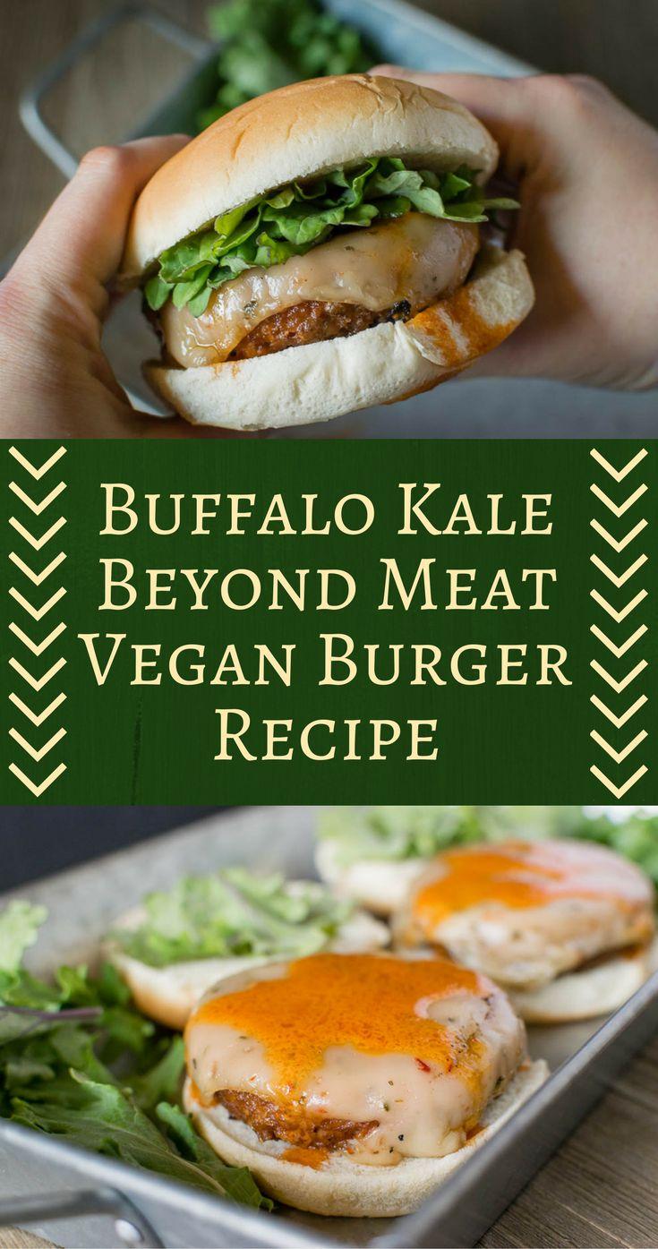 Vegan Recipe | Vegan | Vegan Burger | The Geeks have partnered with Whole Foods Market to create 5 burgers perfect for summer. The third burger is their Kale Buffalo Vegan Burger! [sponsored] 2geekswhoeat.com