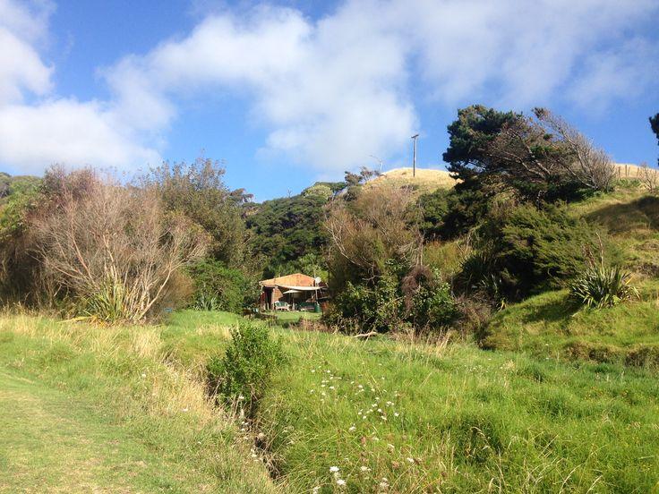 Ruapuke Campground, Raglan, New Zealand