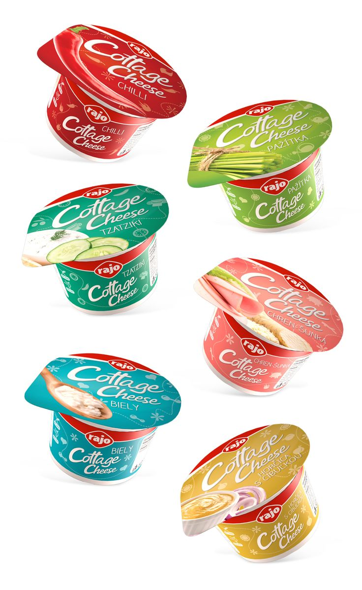 We just finished working on brand new packaging design for Cottage Cheese - Fresh, fun and healthy design for our beloved product