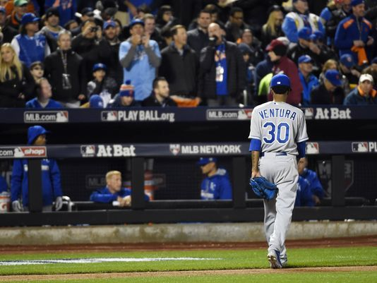 Royals' Yordano Ventura 'wasn't sharp' against Mets in Game 3 of World Series -   Jorge L. Ortiz, USA TODAY Sports 11:23 a.m. EDT October 31, 2015
