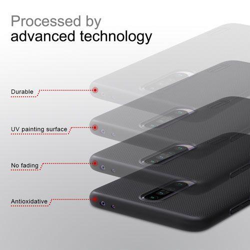 قاب شیائومی ردمی K30 مارک نیلکین با استند 11 Xiaomi Frost Case