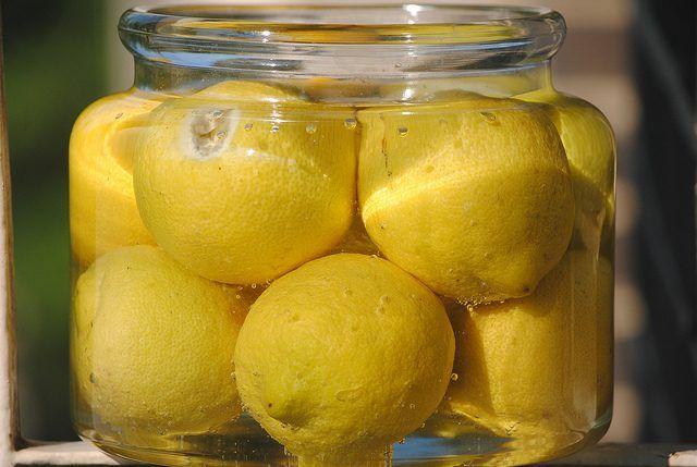 Соленые лимоны необходимый элемент Магрибской кухни