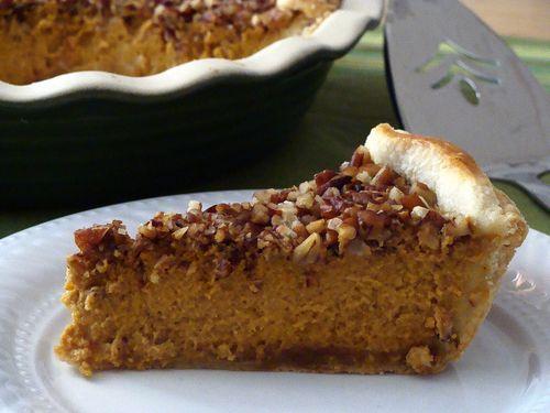Caramel Pecan Pumpkin Pie