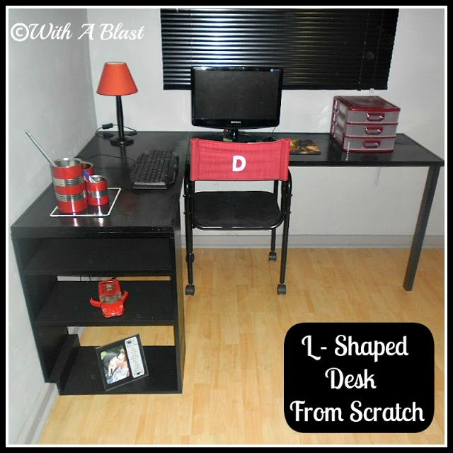 L-Shaped Desk From Scratch