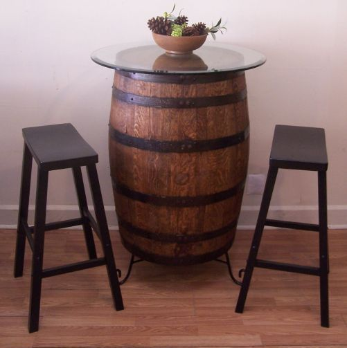 Best 25 Whiskey Barrel Table Ideas On Pinterest Whiskey