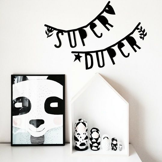 #Wordbanner #tip: Super duper - Buy it at www.vanmariel.nl - € 11,95, 2 for € 20