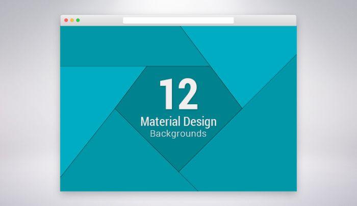 12 Material Design Background Sets (Free & Premium)