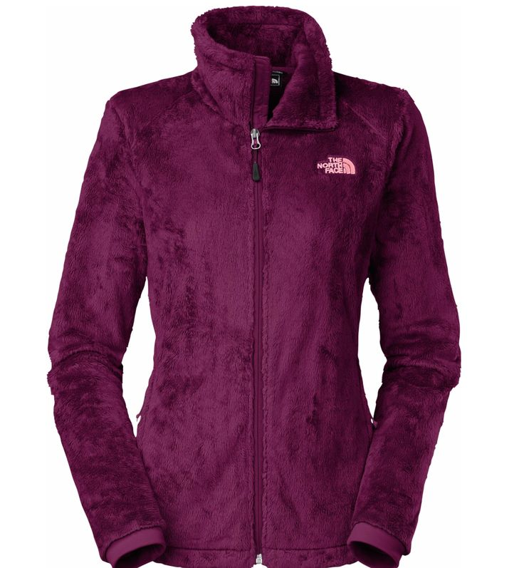 The North Face Women's Osito 2 Fleece Jacket. Merlot color